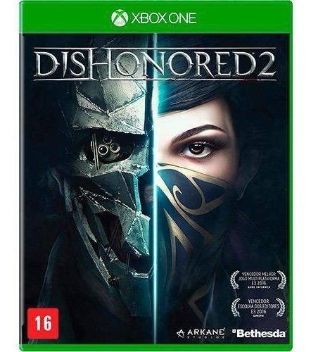 Jogo Dishonored 2 Xbox One Mídia Fisica Original