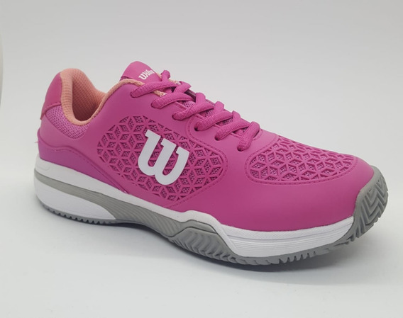 Zapatillas Tenis Wilson Match Mujer Pink/pink (l1w3a) S+w
