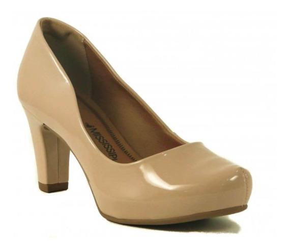 Sapato Feminino Scarpin Mississipi X4794