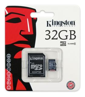 Cartão Memória Micro Sd Kingston 32gb Original Lacrado