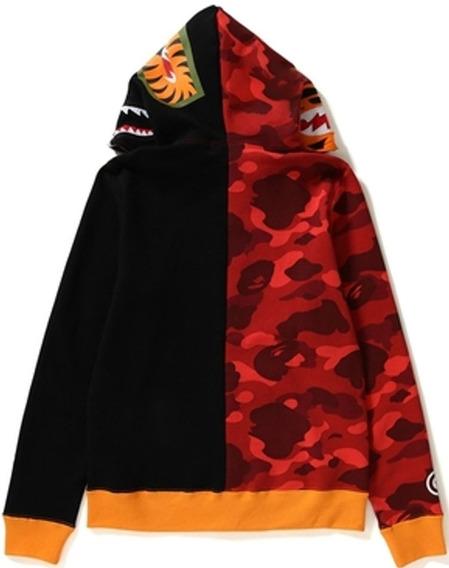 Moletom Capuz Ziper Bape Camuflado Hyped Hype Trap Outfit