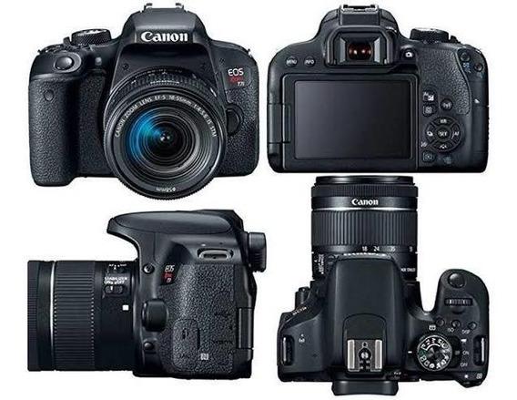 Canon T7i + Lente 18-55mm