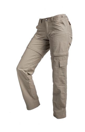 Pantalon Cargo Desmontable Para Dama Secado Rapido Suplex