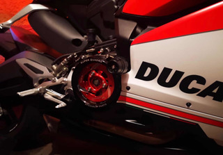 Tapa De Clutch Ducati 959, 1199 Y 1299 Root Racing