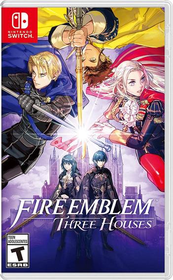 Fire Emblem Three Houses - Switch - Novo - Lacrado - Fisico