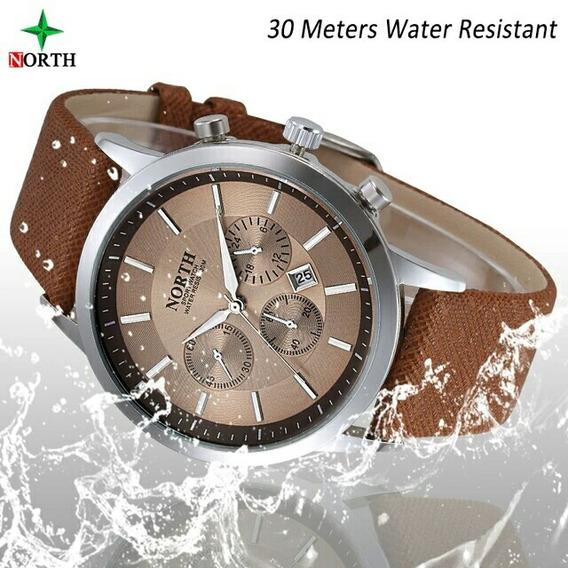 Reloj North Elegante Deportivo Caballeros Hombres Negocios