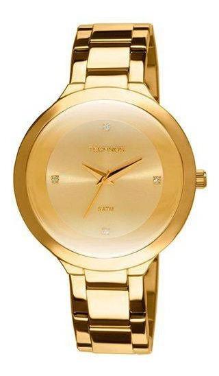 Relógio Feminino Technos Dourado 2035iia/4x Aço Inoxidável