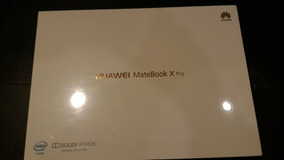 Notebook Huawei Matebook X Pro 256 Gb Color Gris