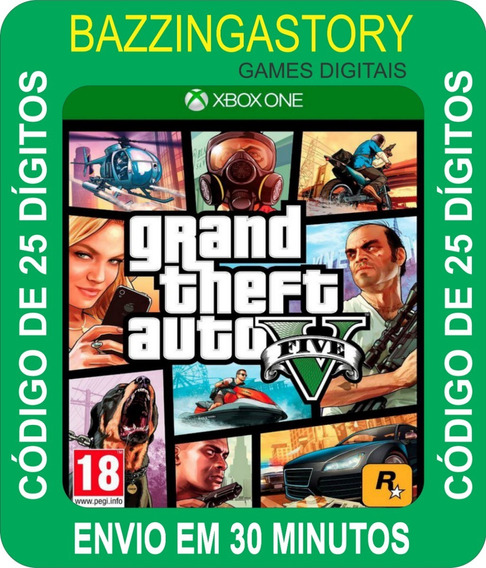 Grand Theft Auto V Edição Online Premium Xbox One 25 Dígitos