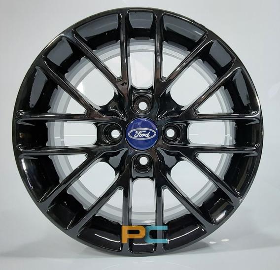 Jogo Rodas Aro15 Ford Fiesta/ Ecosport/ Ka 4x108 Ew 15