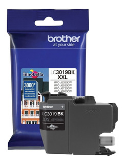 Cartucho Brother Lc3019bk Xxl Negro Mfc-j6730dw 3000 Pag