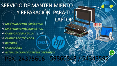 Problemas Con Tu Laptop?