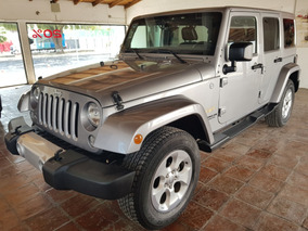 Jeep Wrangler 3.6 Unlimited Sahara V6 4x4 At