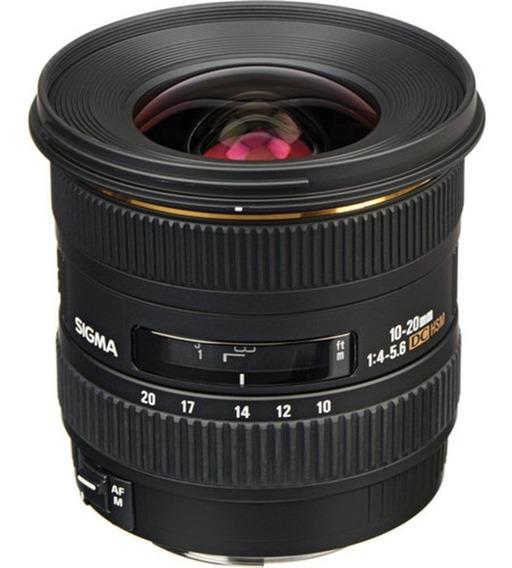 Objetiva Sigma 10-20mm F4-5.6 Ex Dc Hsm Para Canon