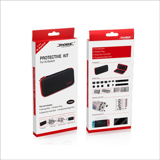 Estuche Nintendo Switch +micavidrio +protect Juegos Y Joycon
