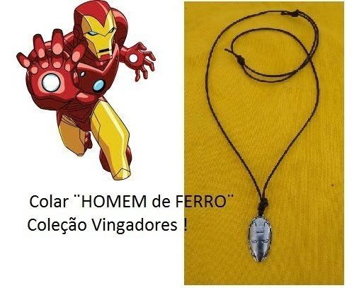 Colar¨homem De Ferro¨coleção Vingadores!