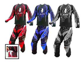 Conjunto Kit Calça + Camisa Ims Infantil Trilha Motocross