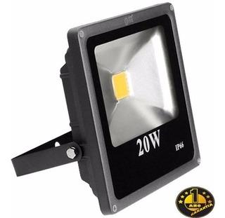 Reflector Led 20w Lampara Luz Blanca 6000k Multivoltaje 097