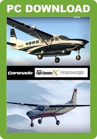 Pacote De Aeronaves Carenado - Fsx E Prepar3d P3d