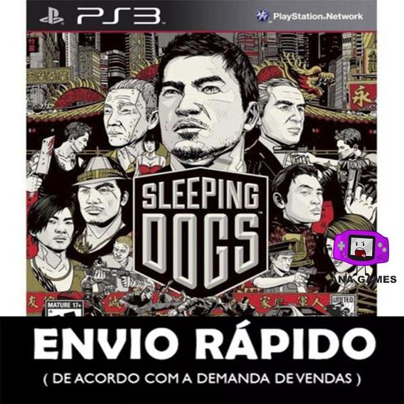 Sleeping Dogs Ps3 - Jogo Digital