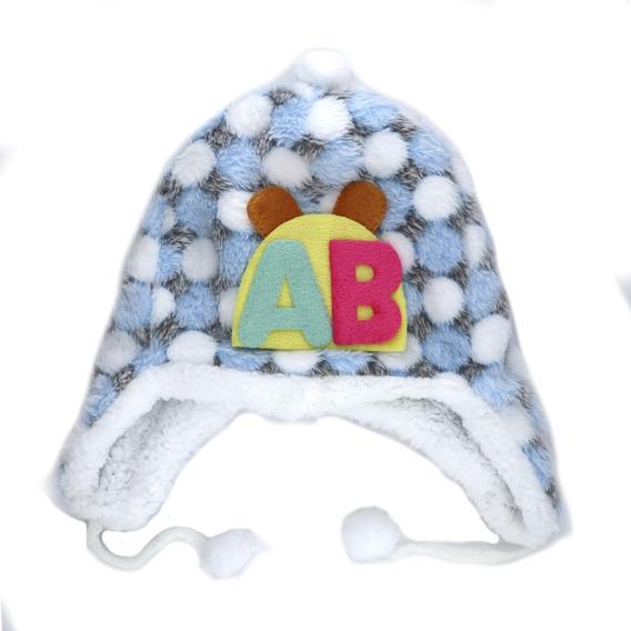 Gorro Tipo Coya Con Aplique Bebé. Art: 240455