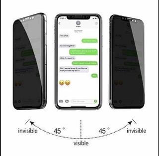 Película Privativa 3d Anti Spy 9h iPhone Xs Max