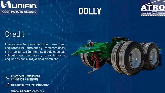 Dolly 2 Ejes 2020 Remolques Atro Credito Unifin