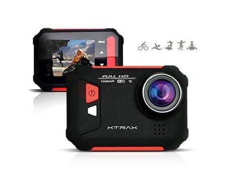 Câmera De Ação Xtrax Evo Full Hd, Wi-fi, 12mp E Display Integrado Xtrax