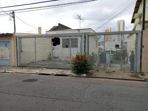 Terreno À Venda, 286 M² Por R$ 750.000,00 - Chácara Belenzinho - São Paulo/sp - Te0052