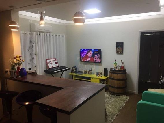 Apartamento Com 1 Dormitório À Venda, 56 M² Por R$ 196.000,00 - Boa Vista - São Vicente/sp - Ap1445