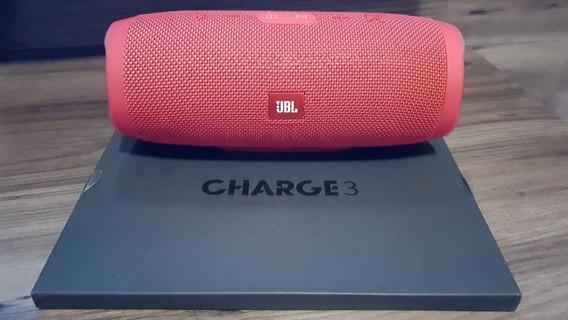 Caixa De Som Jbl Charge 3 Portable Bluetooth 100% Original!!