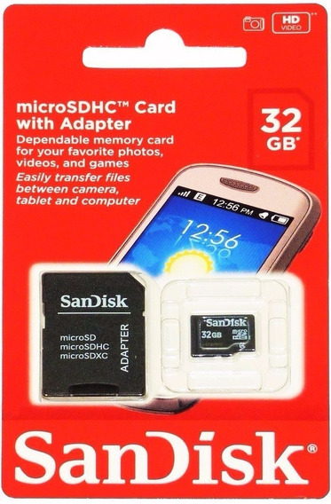 Cartao De Memoria 32gb