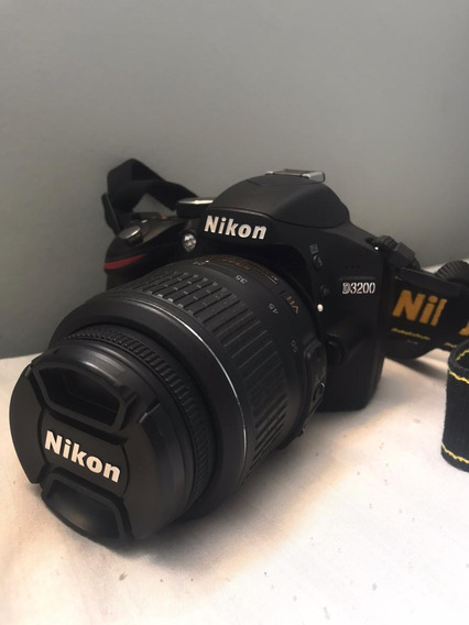 Câmera Semi Profissional Nikon D3200Usada Apenas 3x