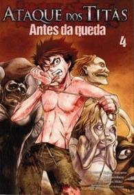 Mangá Ataque Dos Titãs Antes Da Queda - Volume 4 Panini
