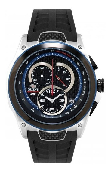 Relógio Orient Masculino Chronograph Kt00002b P1px