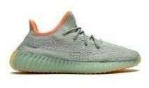 Tênis adidas Yeezy Boost 350 V2 Desert Sage Novo 45br