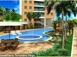 Apartamento Em Capim Macio, Natal/rn De 55m² 2 Quartos À Venda Por R$ 260.000,00 - Ap330698