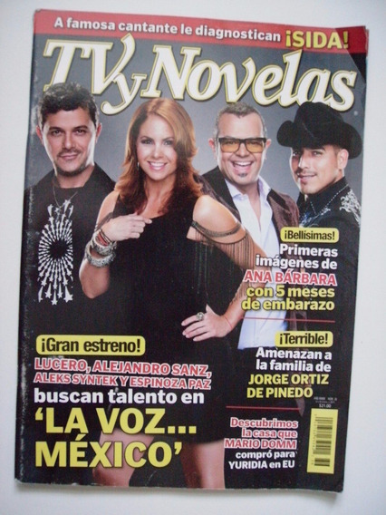 Lucero Y Más En Portada Tv Y Novelas - Septiembre 2011
