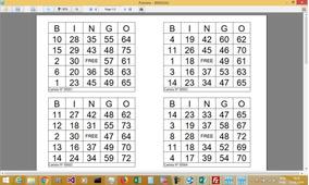 Cartelas De Bingo Software Bingoaj 75x24