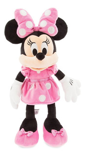 Peluche Minnie Mouse Rosa Original Disney Store Grande 49 Cm