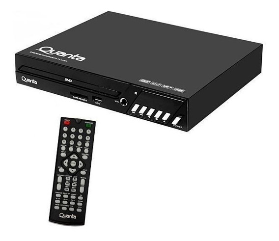 Reprodutor Dvd 5.1 Quanta Qtdvd100