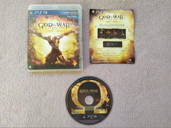 Ps3 - God Of War Ascension, Original, Americano, Completo