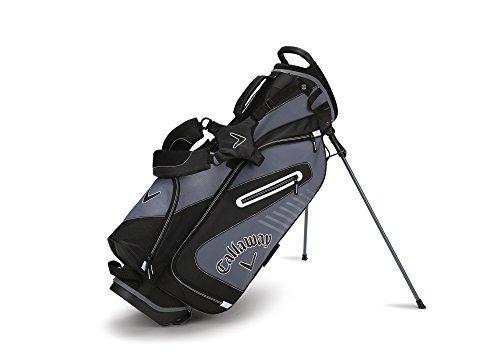 Bolsa De Soporte De Capital Callaway Golf 2017, Negro / Blan