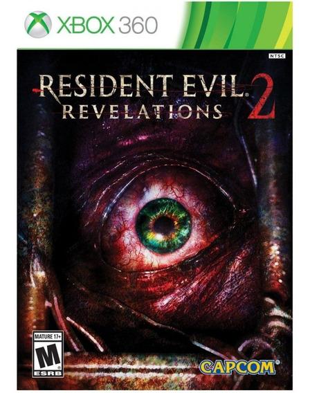 Resident Evil Revelations 2 Xbox 360 Mídia Física Lacrado