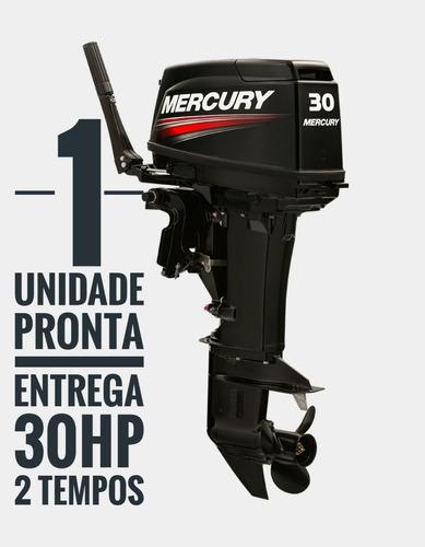 Motor De Popa 30 Hp 2 Tempos Mercury - Novo A Faturar