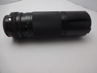 Lente Vivitar 75-205mm 1:3.8 Mc Macro Focusing Zoom