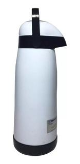 Termo Bomba Mate Termolar Magic Pump 1.8 Litros Blanco
