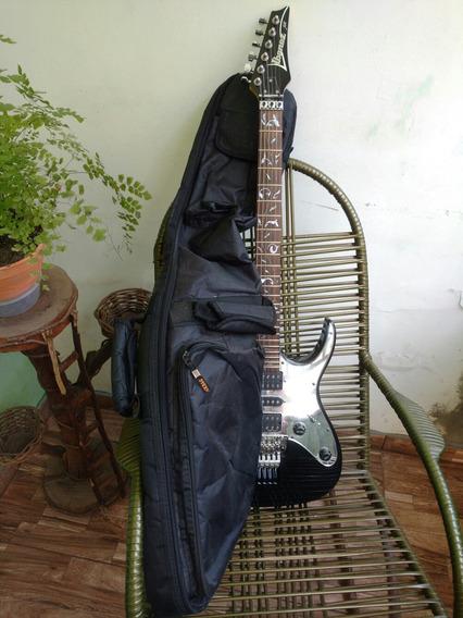 Guitarra Ibanez Jem Bk Steve Vai Pouco Uso Fotos Reais