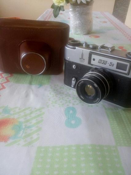 Câmera Fotográfica Fed 5 Dos Anos 70