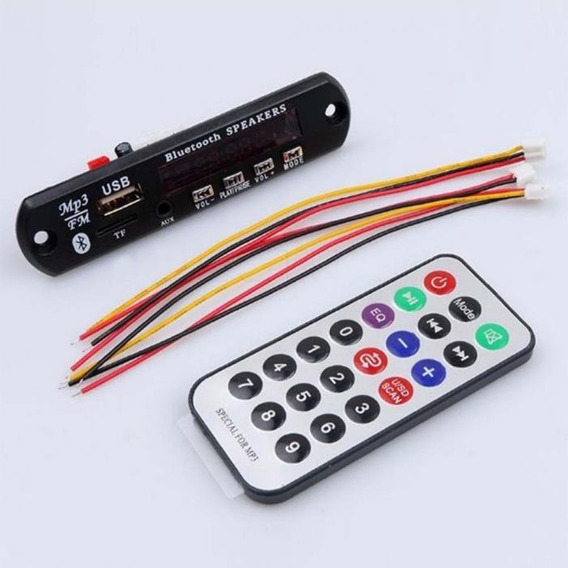 Decodificador De Mp3 Wma Fm Cartão Bluetooth Wifi 12v
